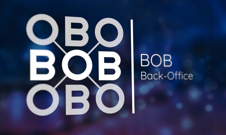 Présentation du logo BOB solution Progial