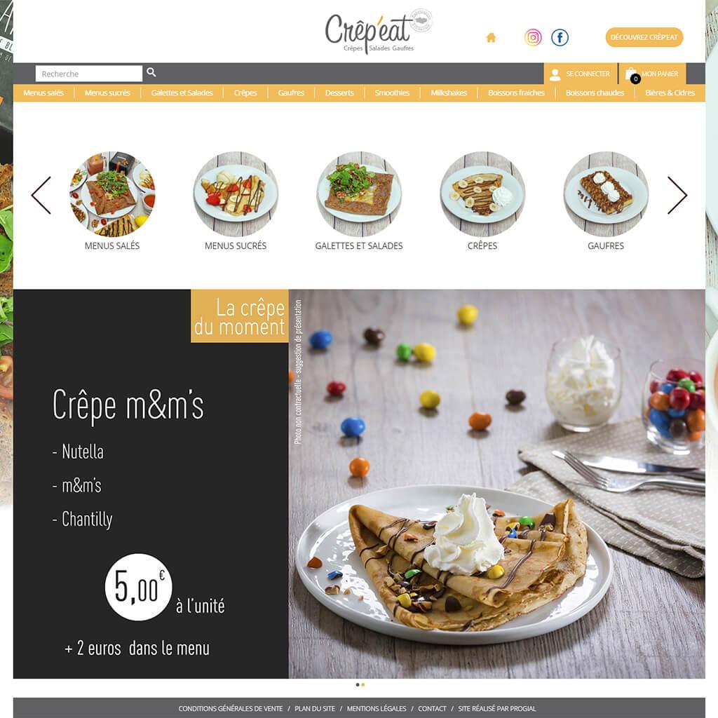 Accueil Click & Collect Crêp'eat