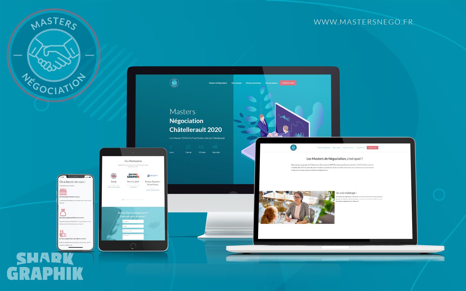 Présentation du site mastersdenego.fr