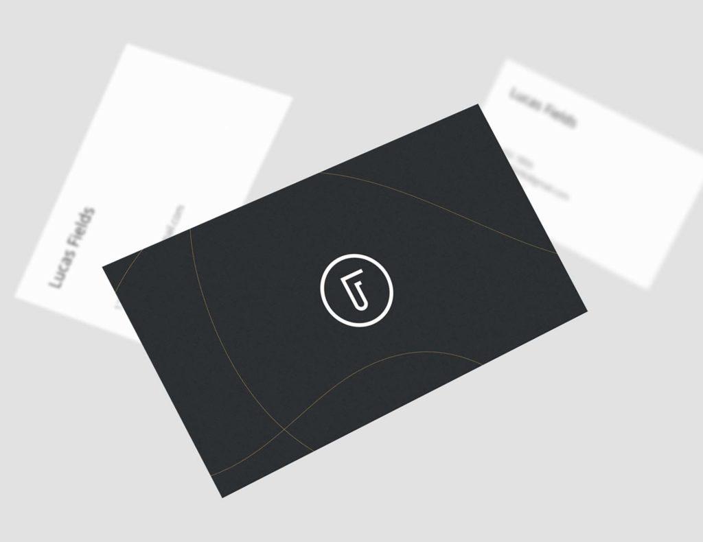 carte noire minimaliste